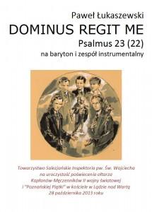 Psalm_23 strona tytu+éowa partytury