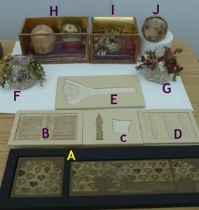 Relikwie itkaniny pokonserwacji - oznaczenie
