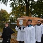 Pogrzeb ks. Apoloniusza Domańskiego