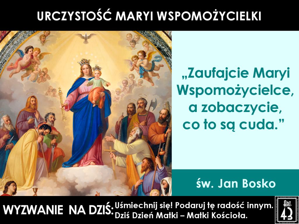 Nowenna do Maryi Wspomożycielki Wiernych